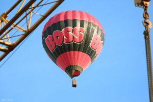 Heißluftballon am 13. Juli 2020 über Eisingen