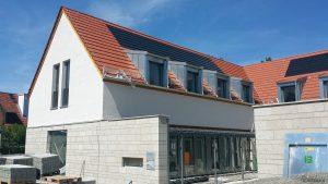 Neues Gemeindezentrum in Eisingen am 22. Juli 2020