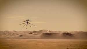 """Mars-Helikopter """"Igenuity"""""""