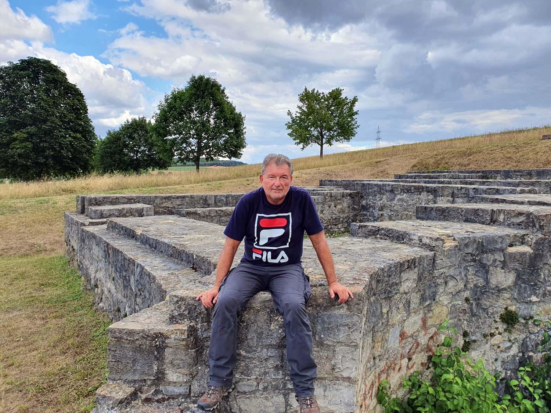 Artur Schmitt am 4. August 2020