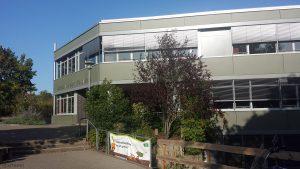 Leopold-Sonnemann-Realschule in Höchberg, Lkr. Würzburg, am 17. September 2020