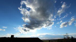 Wetterbild aus Eisingen vom 28. September 2020
