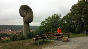 "Denkmal ""Die Schnecke"" in Sommerhausen"