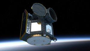 ESA-Weltraumteleskop CHEOPS in sonnensynchroner Erdumlaufbahn