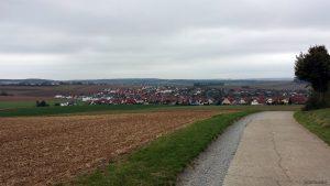 Hettstadt Richtung Waldbüttelbrunn am 3. Oktober 2020