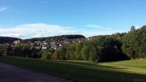Holzkirchen im Lkr. Würzburg am 4. Oktober 2020