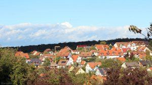 Wetterbild aus Eisingen vom 7. Oktober 2020