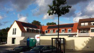 Baufortschritt neues Gemeindezentrum am 7. Oktober 2020