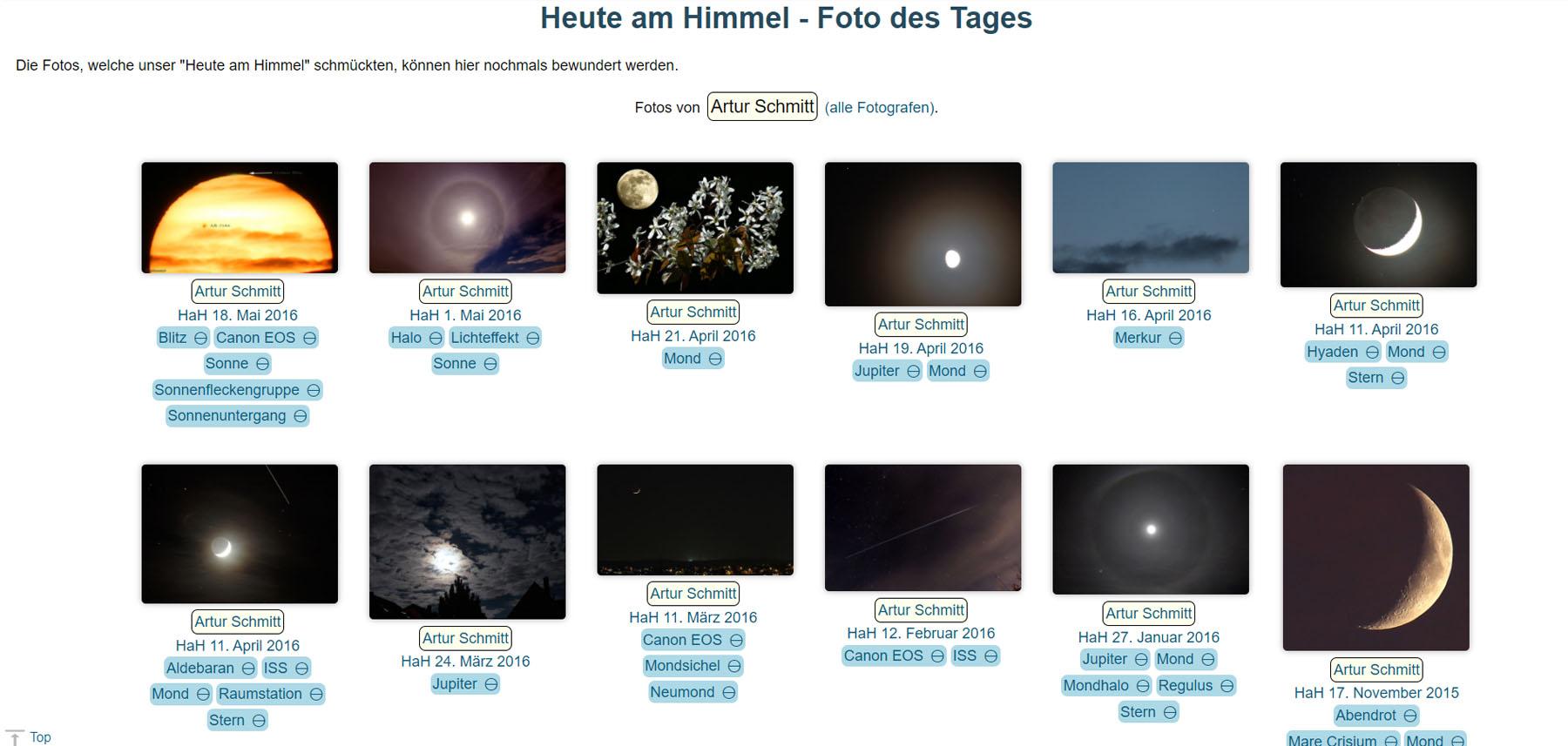 astronomie.info und CalSky sagen Goodbye