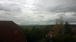 Wetterbild aus Eisingen vom 16. Oktober 2020
