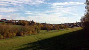 Wetterbild aus Eisingen vom 31. Oktober 2020