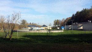 Kläranlage Waldbüttelbrunn am 9. November 2020