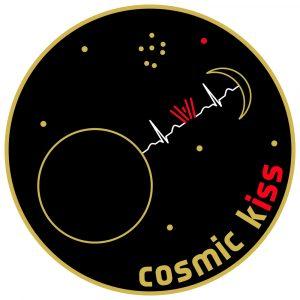 Kosmische Raufe der Kuss-Mission