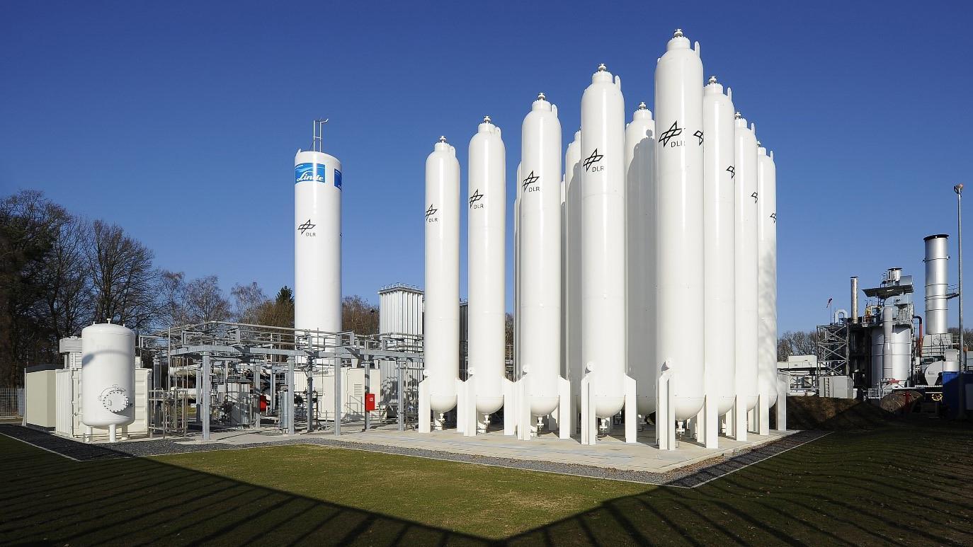 CO2-freie Wasserstoffkraftwerke