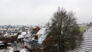 Wetterbild aus Eisingen vom 3. Januar 2021