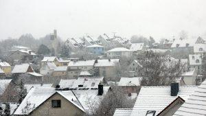 Wetterbild aus Eisingen vom 6. Januar 2021
