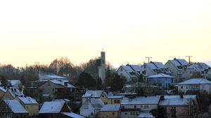 Wetterbild aus Eisingen vom 9. Januar 2021