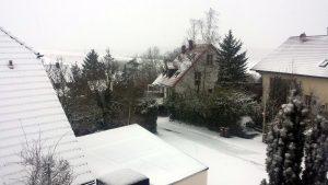 Wetterbild aus Eisingen vom 12. Januar 2021