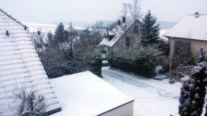 Wetterbild aus Eisingen vom 17. Januar 2021