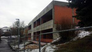 Neubau der Grundschule Eisingen am 23. Januar 2021