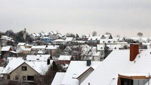 Wetterbild aus Eisingen vom 8. Februar 2021