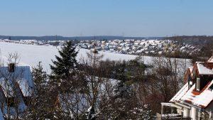 Wetterbild aus Eisingen vom 12. Februar 2021