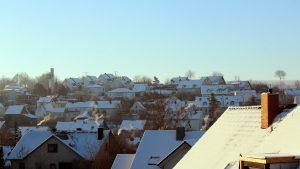 Wetterbild aus Eisingen vom 14. Februar 2021