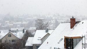 Wetterbild aus Eisingen vom 15. Februar 2021