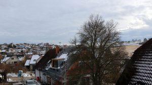 Tauwetter in Eisingen am 16. Februar 2021