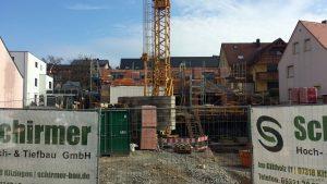 """Neubau """"Alte Schmiede"""" am 28. März 2021 in der Hauptstraße in Eisingen"""