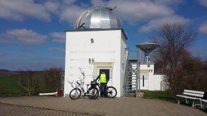 Hans-Haffner-Sternwarte bei Hettstadt im Landkreis Würzburg am 2. April 2021