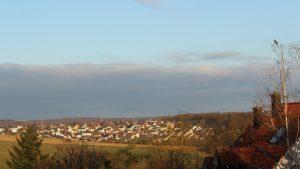 Wetterbild aus Eisingen vom 3. April 2021