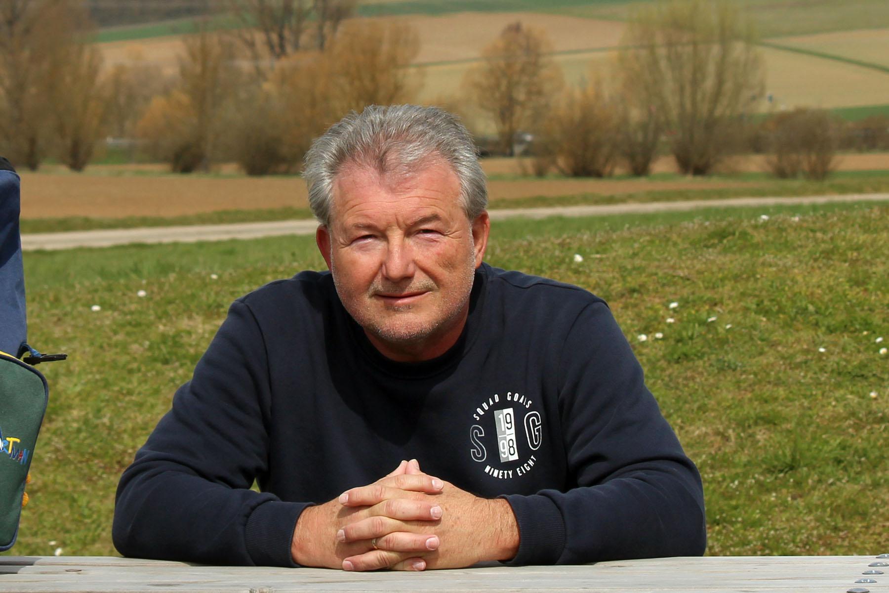 Artur Schmitt am 9. April 2021
