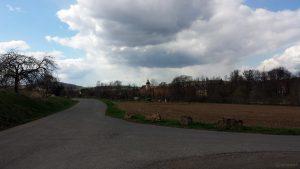 Uettingen im Landkreis Würzburg am 12. April 2021