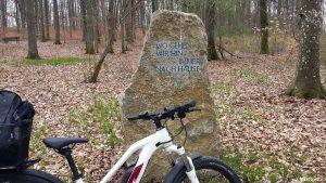Ruhewald Naturbestattung Greußenheim am 15. April 2021