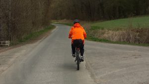Beim Fahrradfahren ist die Erkennbarkeit besonders wichtig