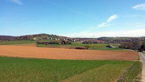 Greußenheim im Landkreis Würzburg am 22. April 2021