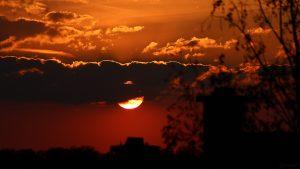 Sonnenuntergang am 29. April 2021
