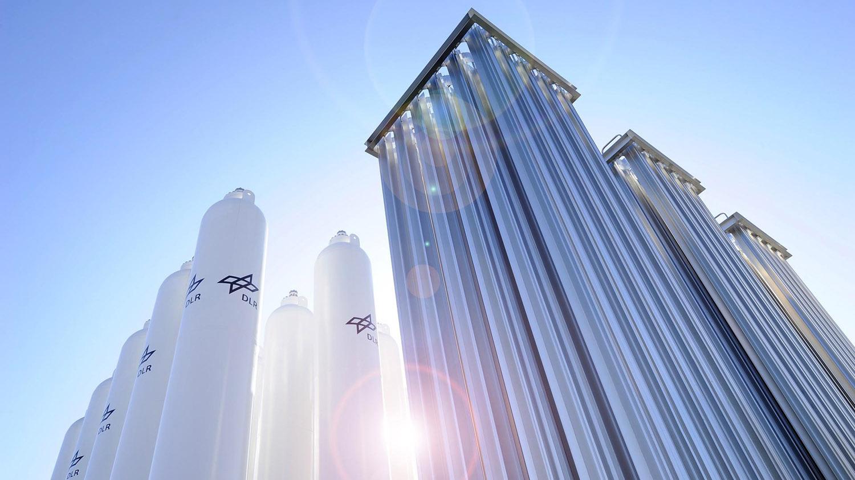 Anlage zur Wasserstoffversorgung im DLR Köln