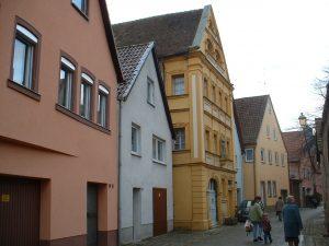Trachtenmuseum im Greisinghaus in der Spitalgasse in Ochsenfurt