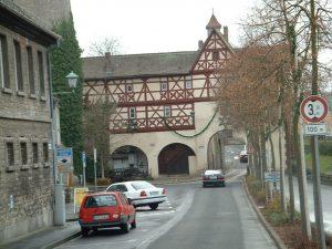 Bollwerk mit Freilichtschmiede in Ochsenfurt