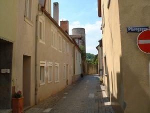 Zwinger in Ochsenfurt am 16. Mai 2003