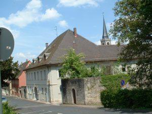 Ehemaliges Amtsgerichtsgebäude im Zwinger in Ochsenfurt