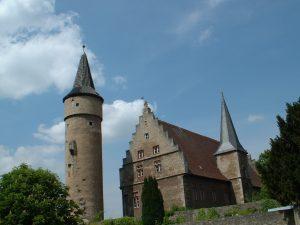 Nikolausturm und Palatium in Ochsenfurt