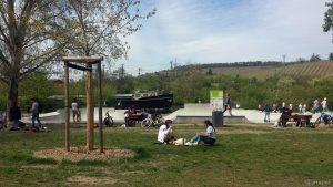 Skatepark Würzburg am 8. Mai 2021
