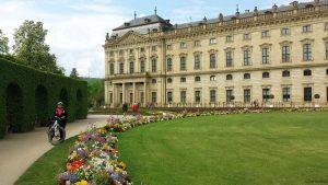 Mäggi im Hofgarten in Würzburg
