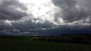 Wetterbild aus Eisingen vom 17. Mai 2021