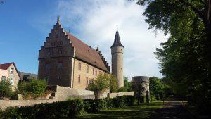 Palatium, Nikolausturm und Dicker Turm in Ochsenfurt