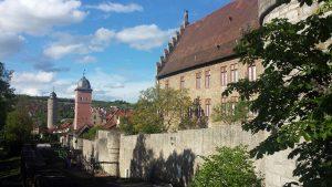 Taubenturm, Klingentorturm und Palatium in Ochsenfurt