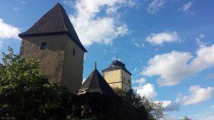 Pulverturm und Oberer Torturm in Ochsenfurt
